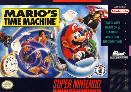 Retro Game Guide Snes Mario S Time Machine