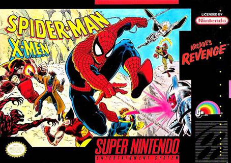 Spider-Man & the X-Men: Arcade's Revenge