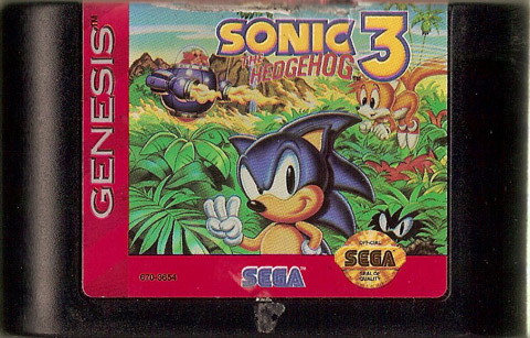 retro game guide genesis sonic the hedgehog 3. Black Bedroom Furniture Sets. Home Design Ideas