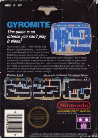 retro game guide nes gyromite