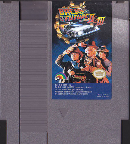 Retro Game Guide Nes Back To The Future Part Ii Amp Iii