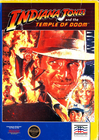 Indiana Jones and the Temple of Doom (Unlicensed)