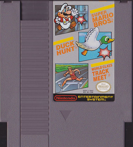 nes mario duck hunt world class track meet rom