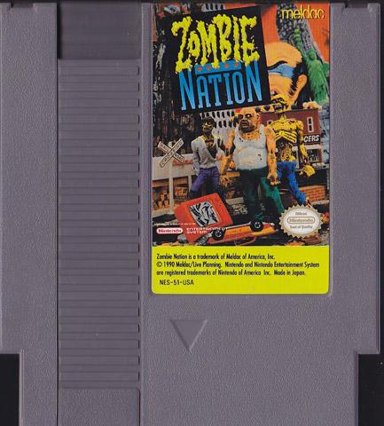 Zombie Nation Nintendo Game