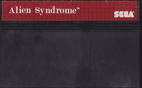 Retro game guide sms alien syndrome for Alien syndrome