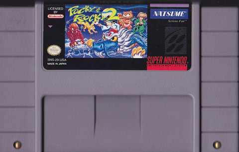 Retro Game Guide Snes Pocky Amp Rocky 2