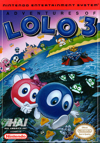 Retro Game Guide Nes Adventures Of Lolo 3