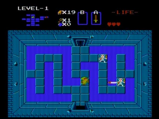Retro game guide nes legend of zelda the for Bureau zelda