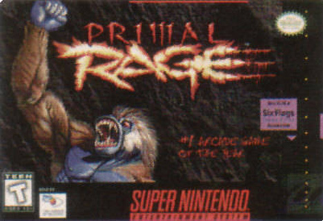 Retro Game Guide - SNES - Primal Rage